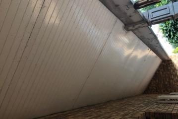 Remise en peinture des dessous de toit